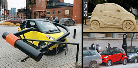 Creative Smart Car Advertising