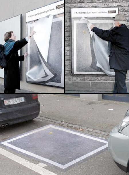 Tear-Off Parking Spaces
