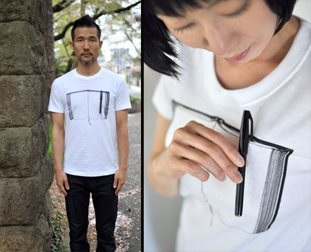 Interactive T-Shirts from Japan
