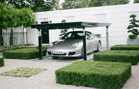Porsche Garden