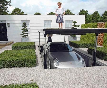 Porsche Underground Parking