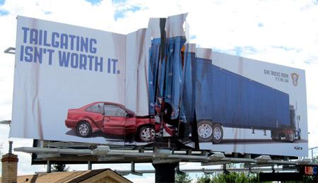 Crunched Billboard
