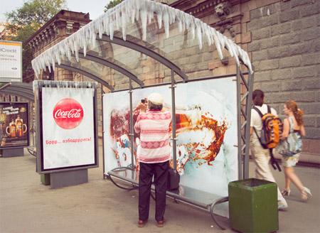 Frozen Bus Stop
