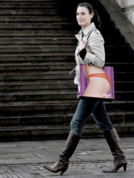Blush Shopping Bag
