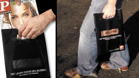 Burka Shopping Bag