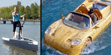 12 Unusual and Creative Boats