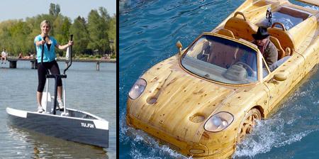 12 Unusual and Creative Boats