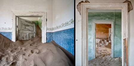 Abandoned Houses in the Desert