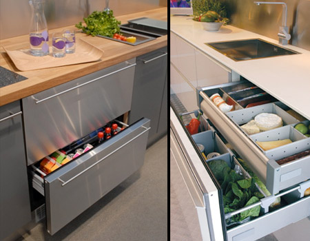 Built in Refrigerator Drawers Drawer Refrigerator