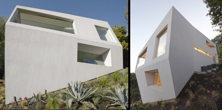 Modern Hill House in Los Angeles