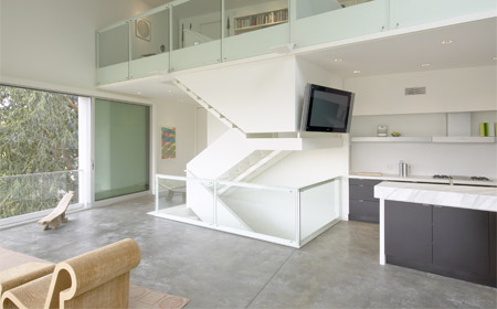 Modern Hill House Interior