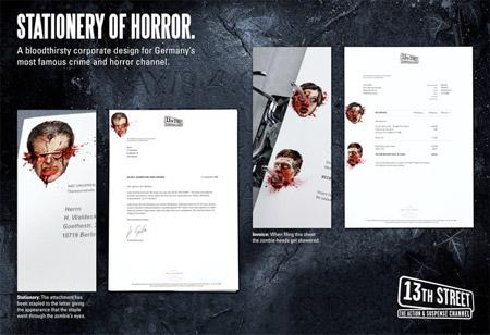Stationery of Horror