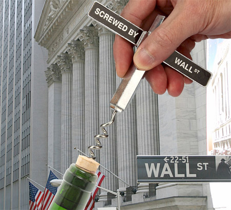 Wall Street Corkscrew