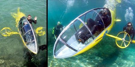 Pedal Powered Submarine