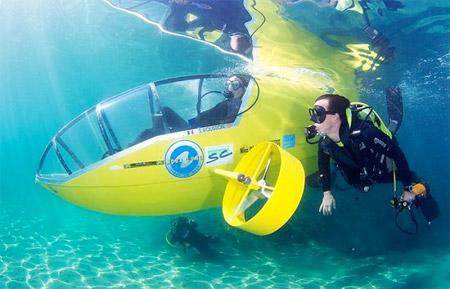 Pedal Submarine