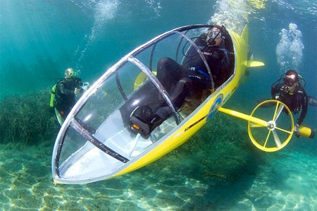 Pedal Powered Personal Submarine