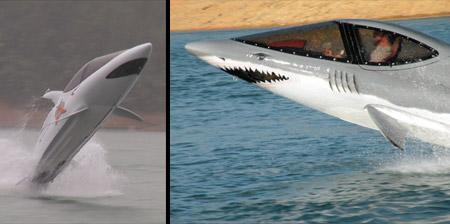 Shark Inspired Personal Watercraft