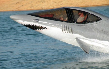 Shark Inspired Watercraft