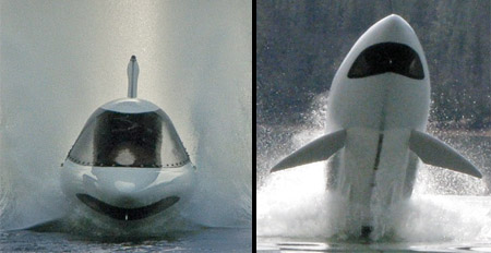 Shark Shaped Watercraft