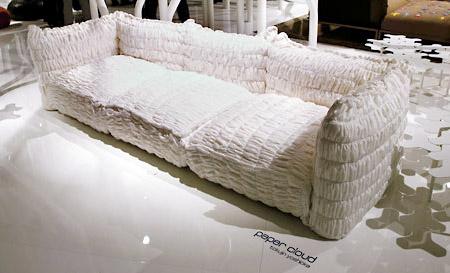 Paper Cloud Sofa