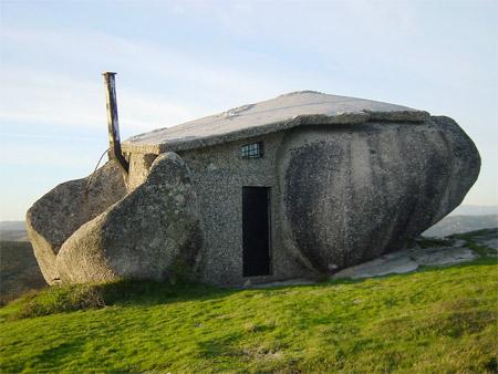 Flintstones Stone House