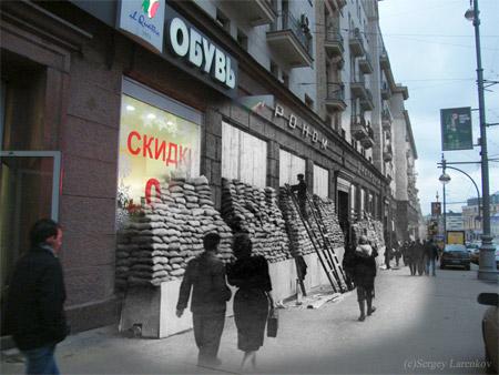 World War II Moscow