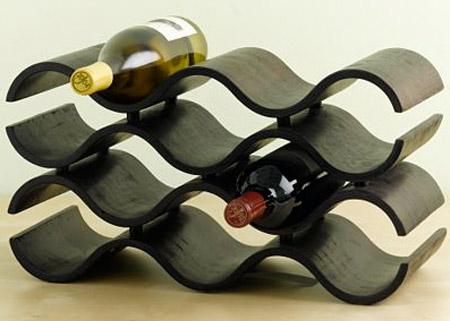 Wavy Wine Rack