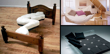 14 Creative and Unusual Beds
