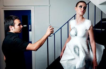 Spray-on Dress