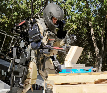 Raytheon Robotic Suit
