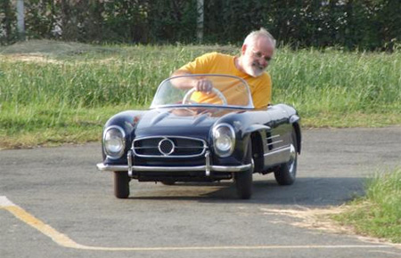 Half Scale Mercedes Benz 300SL