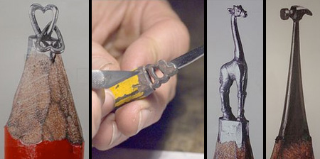 Amazing Pencil Tip Sculptures