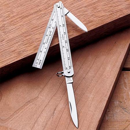Pocket Knife Ruler