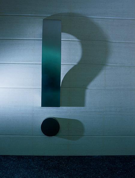 Shadow Question Mark