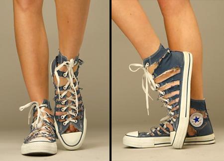 Shredded Shoes