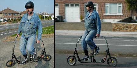 Sideways Bicycle