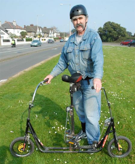 Sideways Bike Concept