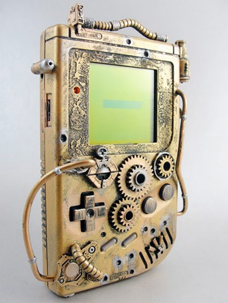 Steampunk Gameboy