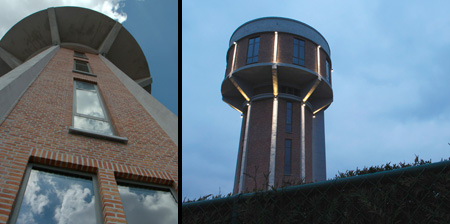 Water Tower House in Belgium
