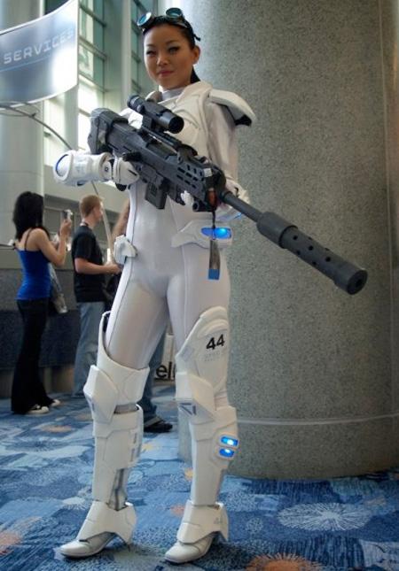 StarCraft Ghost Costume