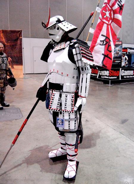 Samurai Stormtrooper Costume