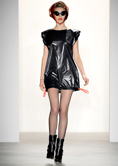 Garbage Bag Dress
