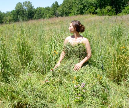 Grass Dress