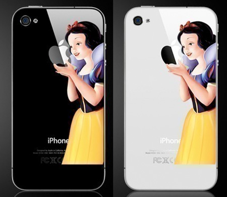 Snow White iPhone Sticker