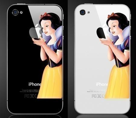 Snow White iPhone Sticker