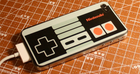 NES Controller iPhone Sticker