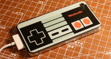 NES Controller iPhone Sticker