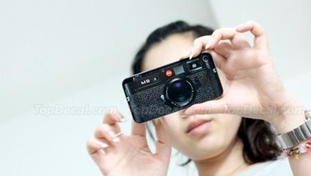 Leica M9 iPhone Sticker