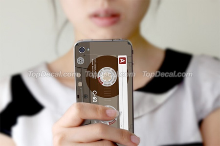 Cassette Tape iPhone Sticker