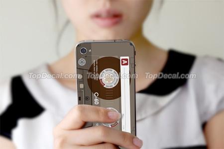 Cassette Tape iPhone Sticker
